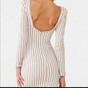 Sequin bodycon mini dress